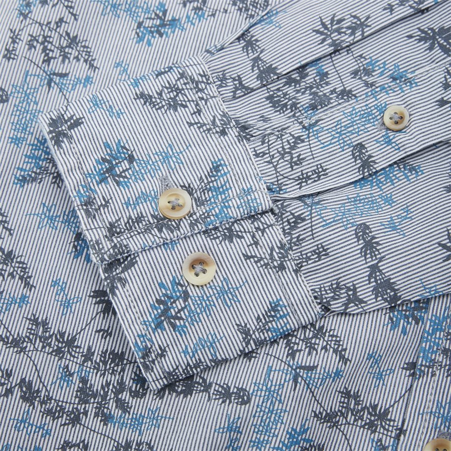 15284 1254 - Mads Blue Print CP  - Skjorter - Regular - BLÅ - 4