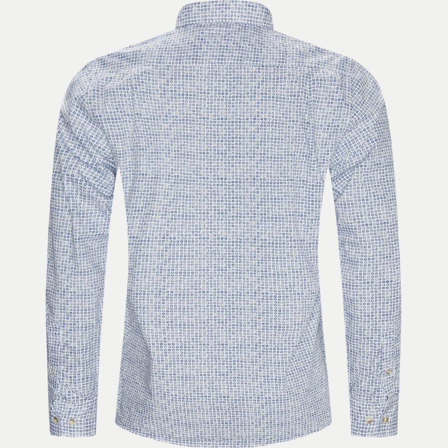 15284 1254 - Mads Blue Print CP  - Skjorter - Regular - HVID - 2