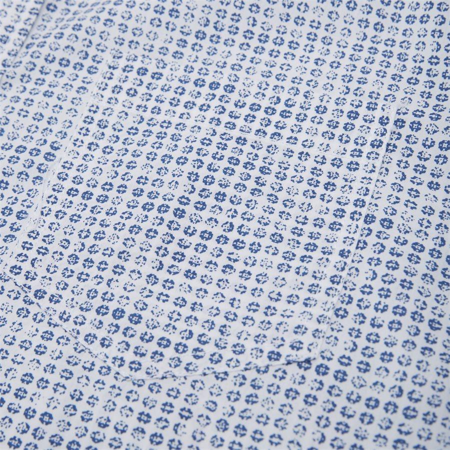 15284 1254 - Mads Blue Print CP  - Skjorter - Regular - HVID - 3