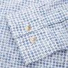 15284 1254 - Mads Blue Print CP  - Skjorter - Regular - HVID - 4