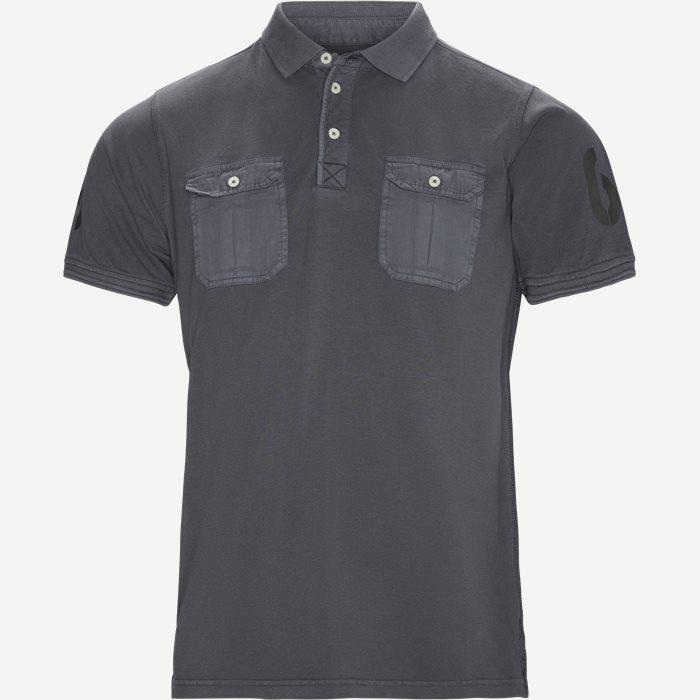 Nemo Uniform Polo T-shirt - T-shirts - Regular - Grå