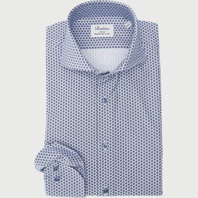 7707 Twofold Super Cotton Skjorte 7707 Twofold Super Cotton Skjorte | Blå