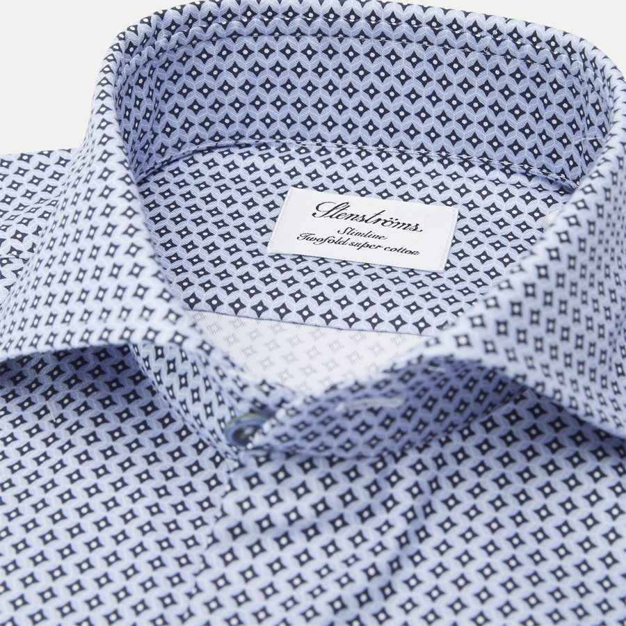7707 712111/612111 - 7707 Twofold Super Cotton Skjorte - Skjorter - BLÅ - 2