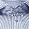 7707 712111/612111 - 7707 Twofold Super Cotton Skjorte - Skjorter - BLÅ - 3