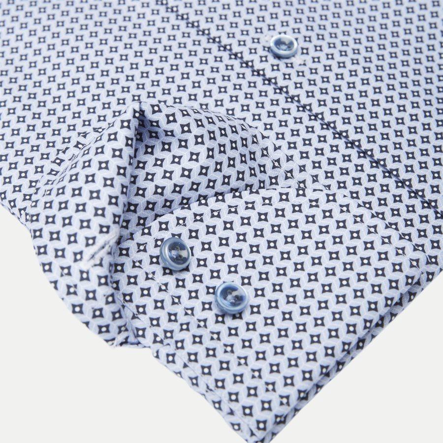 7707 712111/612111 - 7707 Twofold Super Cotton Skjorte - Skjorter - BLÅ - 4