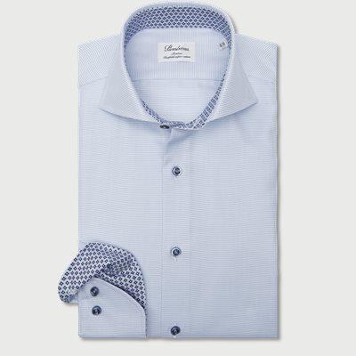 2193 Twofold Super Cotton Skjorte 2193 Twofold Super Cotton Skjorte | Blå