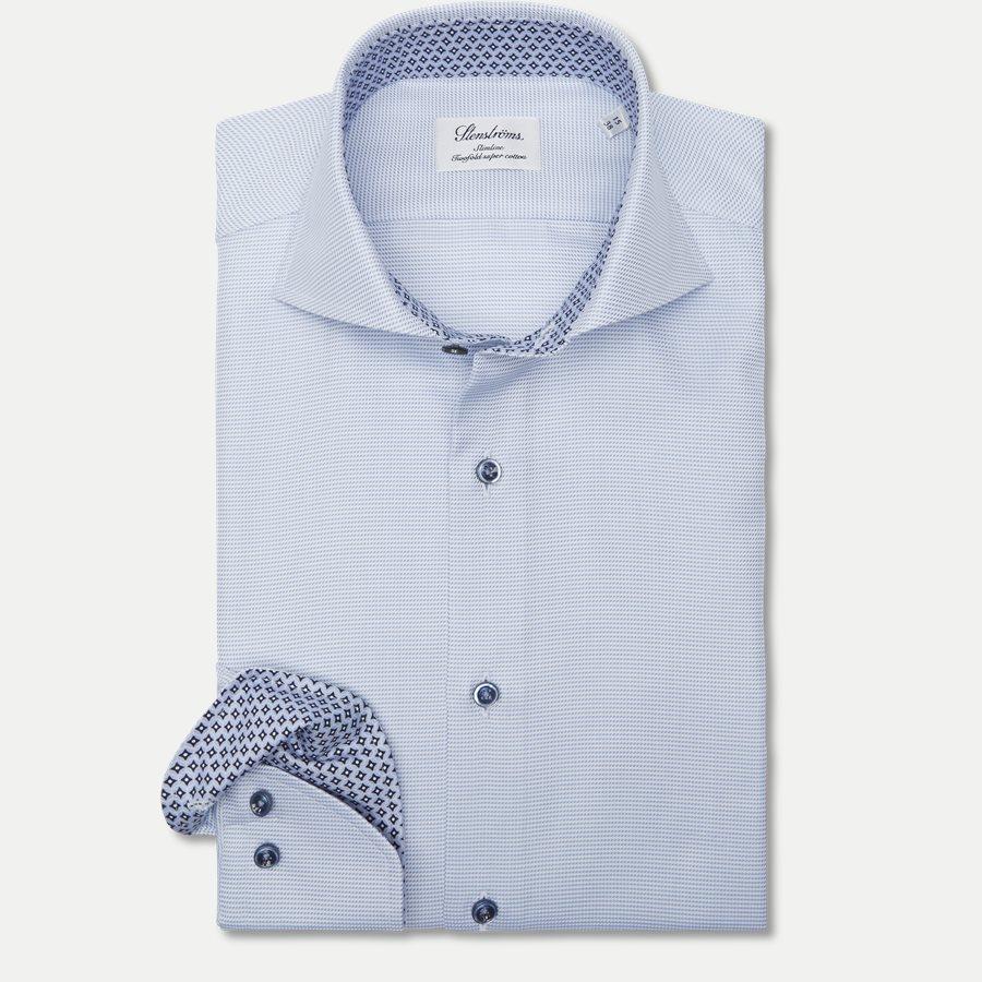 2193 784111/684111 - 2193 Twofold Super Cotton Skjorte - Skjorter - LYSBLÅ - 1