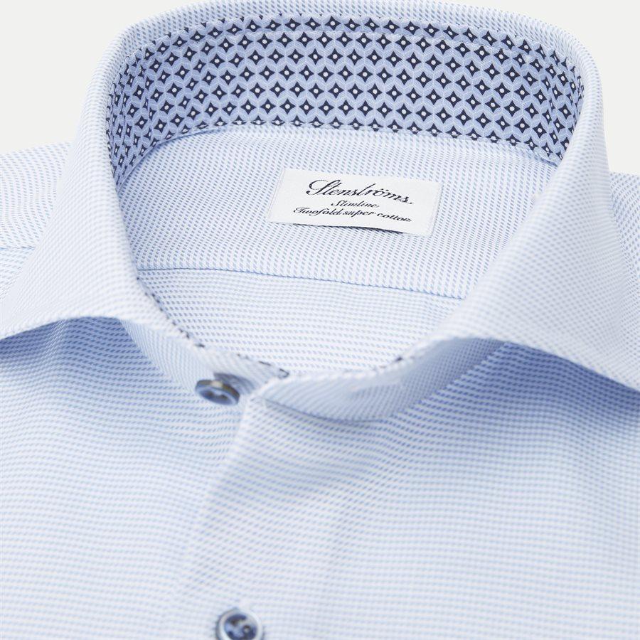 2193 784111/684111 - 2193 Twofold Super Cotton Skjorte - Skjorter - LYSBLÅ - 2