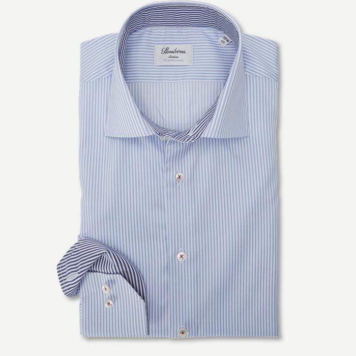 Twofold Stretch  - Skjorter - Blå