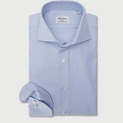 Twofold Super Cotton Skjorte Slim | Twofold Super Cotton Skjorte | Blå