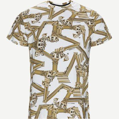 Print Fregi Antique T-shirt Regular | Print Fregi Antique T-shirt | Hvid