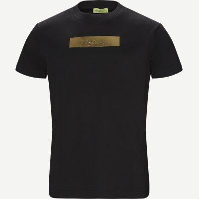 Jersey Cotton Mark T-shirt Regular | Jersey Cotton Mark T-shirt | Sort
