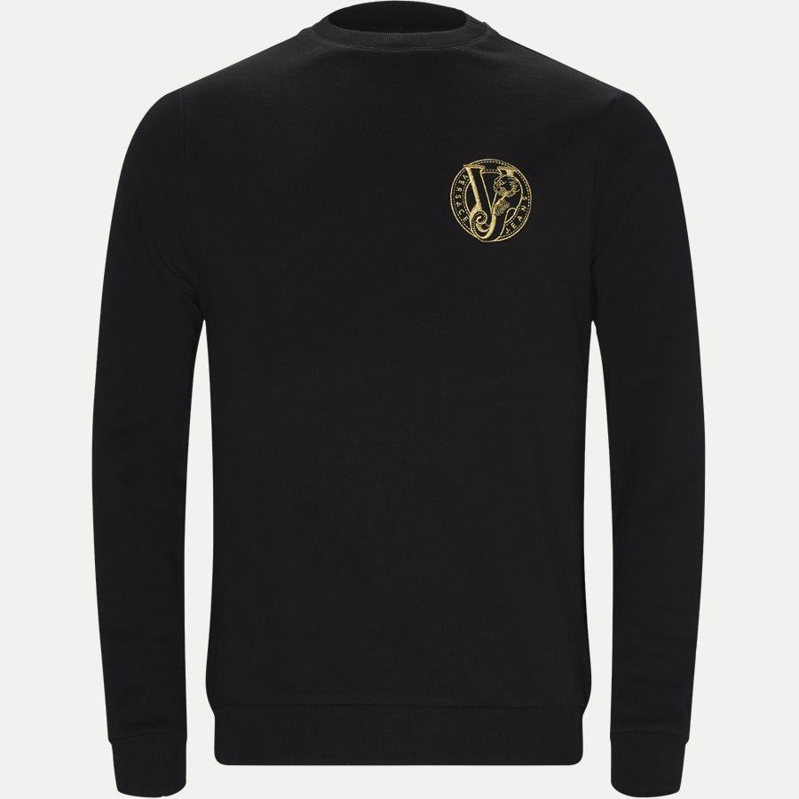 B7GTB7FE 36604 - Felpa Logo Sweatshirt - Sweatshirts - Regular - SORT - 1