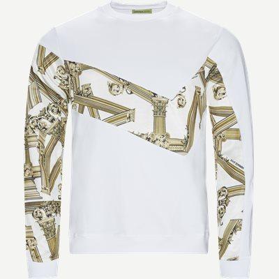 Fleece Light Stretch Sweatshirt Regular | Fleece Light Stretch Sweatshirt | Hvid