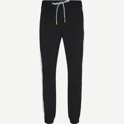 Logo Tape Slim Sweatpant Slim | Logo Tape Slim Sweatpant | Sort