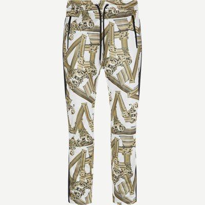 Tecnico Print Antique Fregi Sweatpants Regular | Tecnico Print Antique Fregi Sweatpants | Hvid