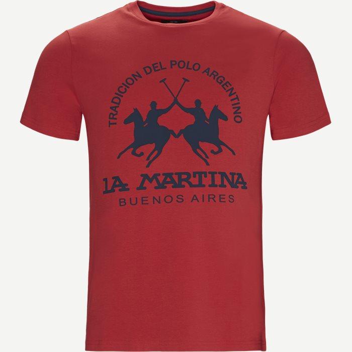 Jersey T-shirt - T-shirts - Regular - Rød