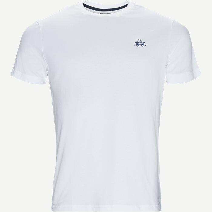 Jersey T-shirt - T-shirts - Regular - Hvid