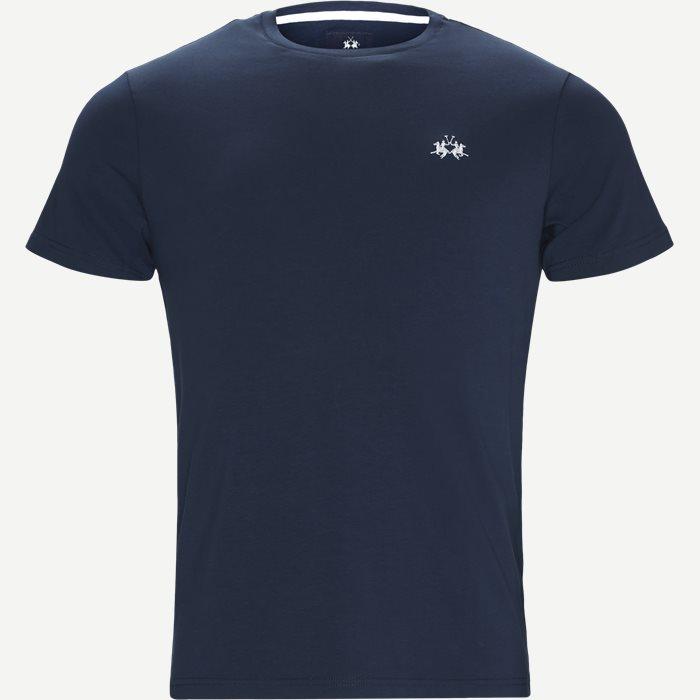 Jersey T-shirt - T-shirts - Regular - Blå