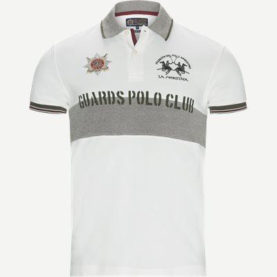 Pique Polo T-shirt Slim | Pique Polo T-shirt | Hvid
