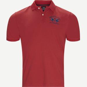 Pique Polo T-shirt Regular | Pique Polo T-shirt | Rød