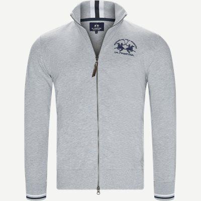 Man Fleece Full Zip Sweatshirt Regular | Man Fleece Full Zip Sweatshirt | Grå