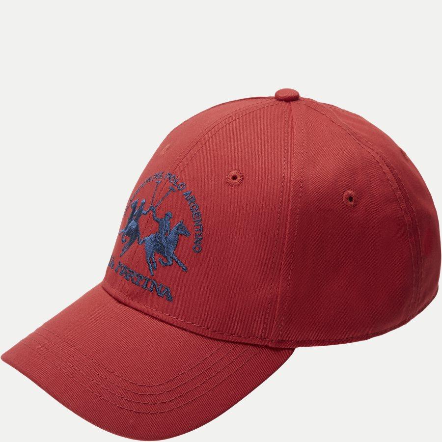 NUH002-TW009 - Caps - RØD - 1