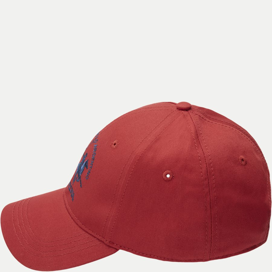 NUH002-TW009 - Caps - RØD - 3