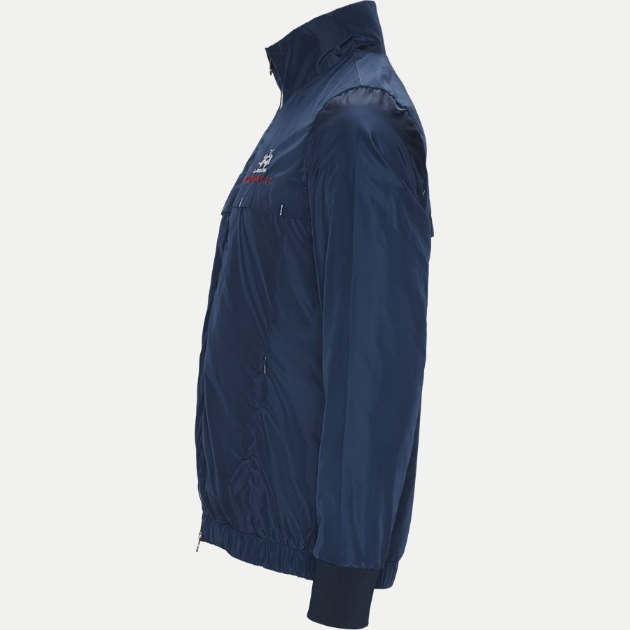 NMOM33-PA004 - Man Nylon Bomber Jacket - Jakker - Regular - NAVY - 3