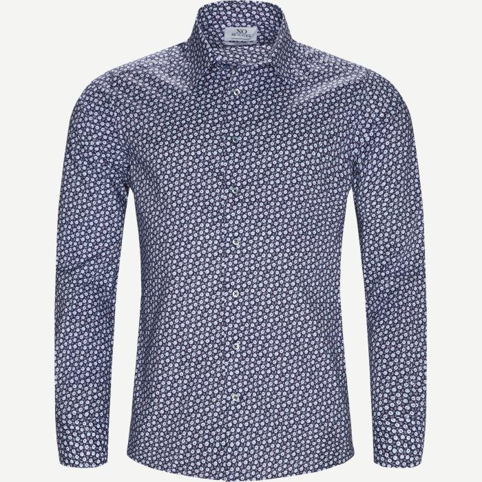 8176 Jake/Gordon Skjorte - Skjorter - Blå