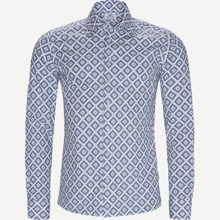 8196 Jake/Gordon Skjorte - Skjorter - Blå