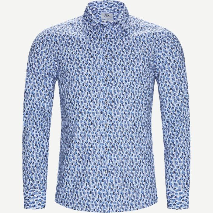 Jake SC Skjorte - Skjorter - Blå