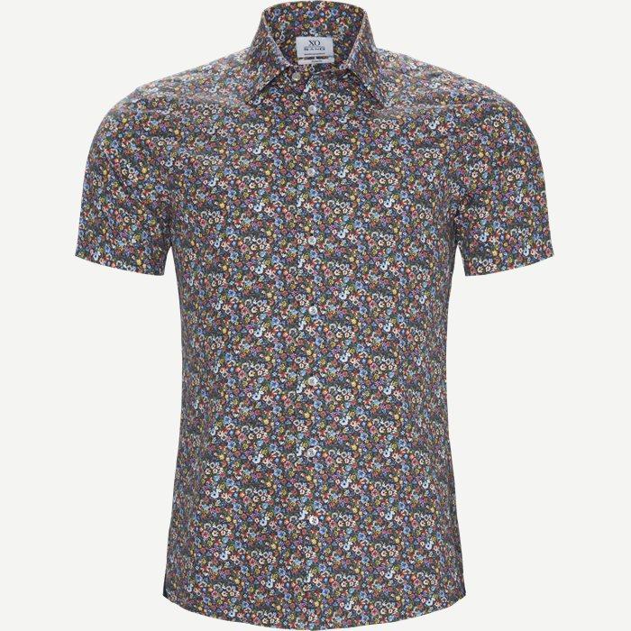 Jake SC Kortærmet Skjorte - Kortærmede skjorter - Blå