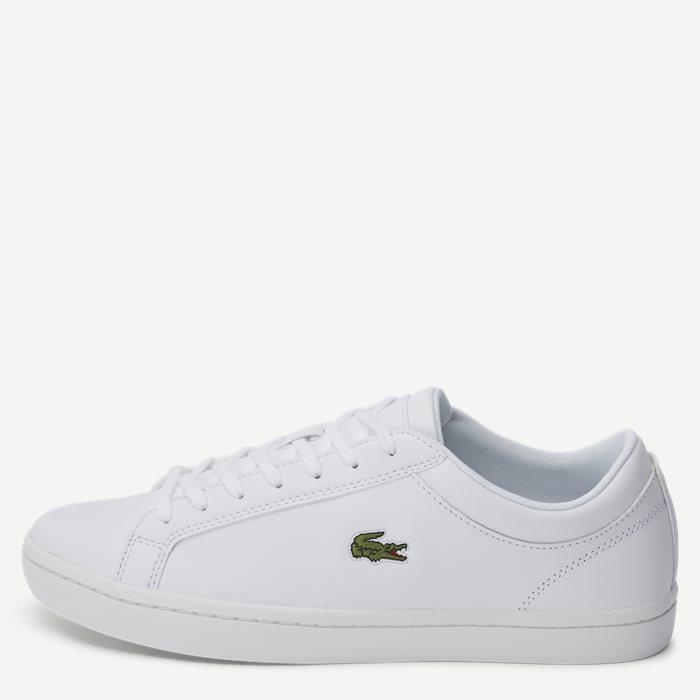 Straightset Sneaker - Sko - Hvid