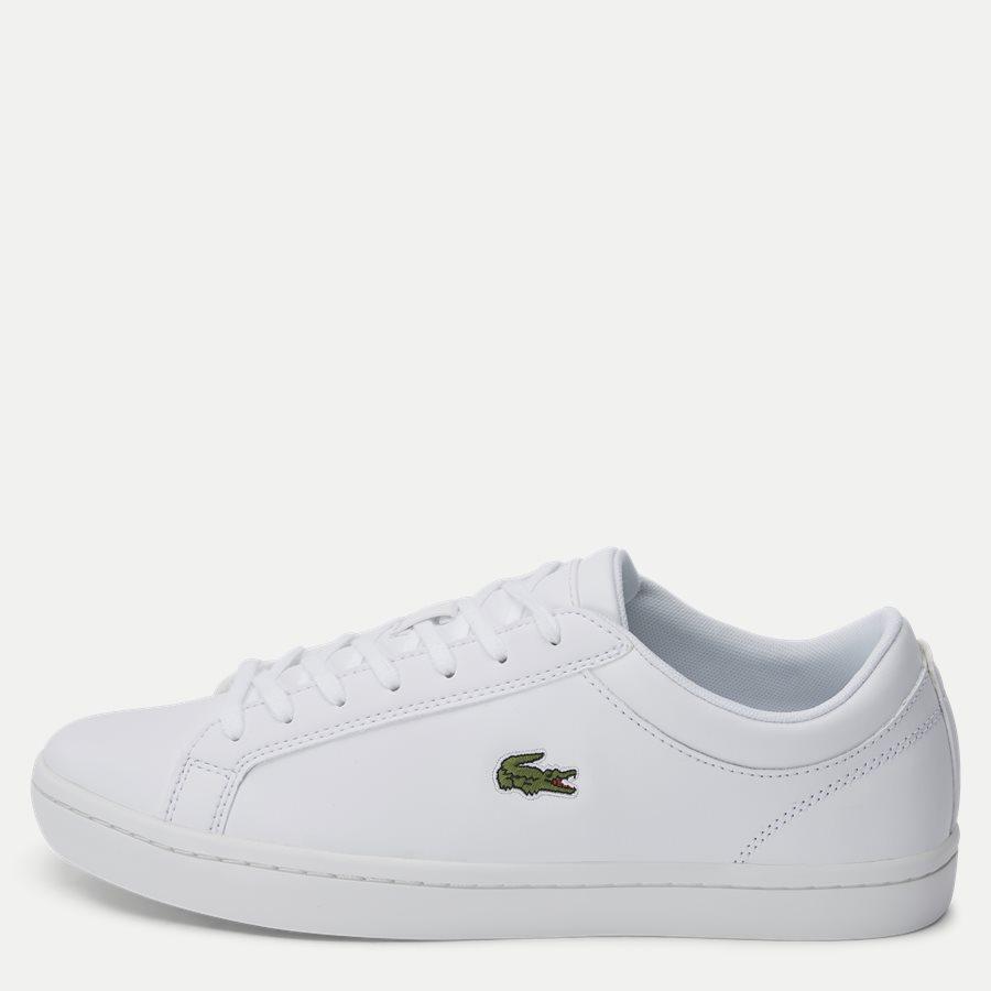 STRAIGHT BL 1 - Straightset Sneaker - Sko - HVID - 1