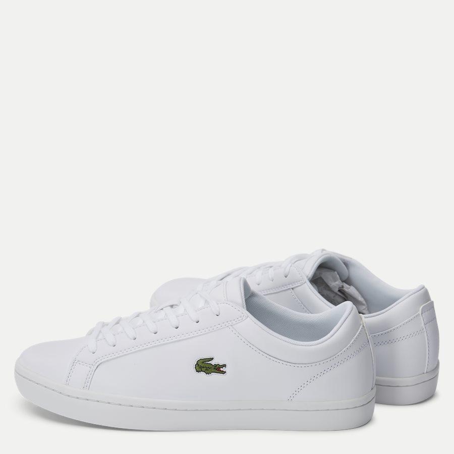 STRAIGHT BL 1 - Straightset Sneaker - Sko - HVID - 3