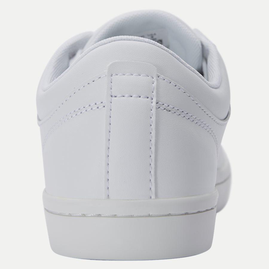 STRAIGHT BL 1 - Straightset Sneaker - Sko - HVID - 7