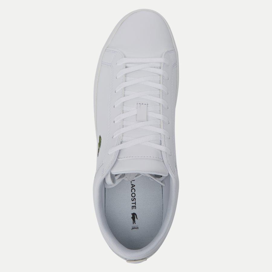 STRAIGHT BL 1 - Straightset Sneaker - Sko - HVID - 8