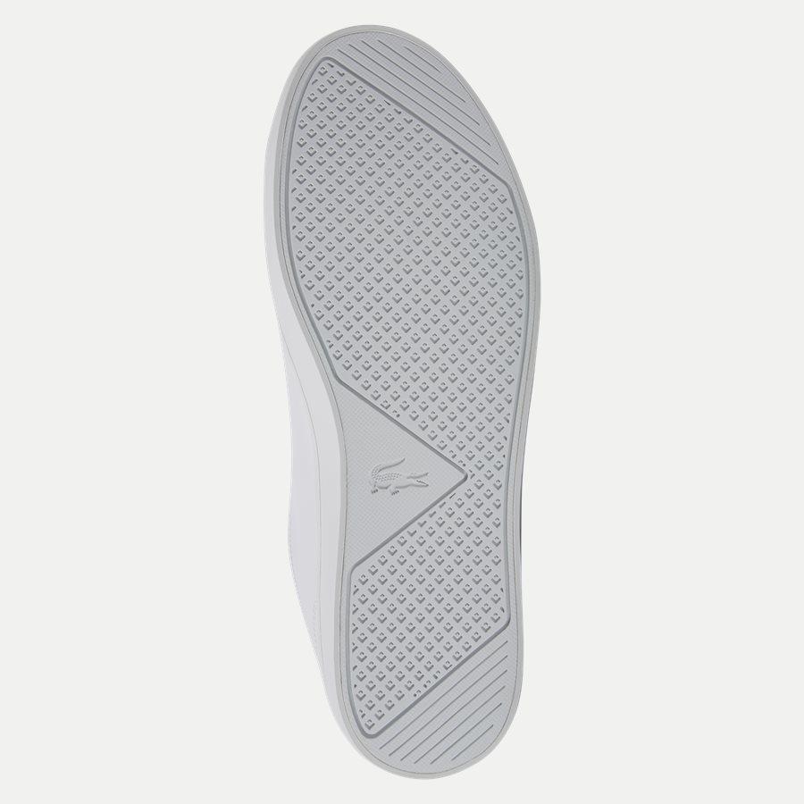 STRAIGHT BL 1 - Straightset Sneaker - Sko - HVID - 9