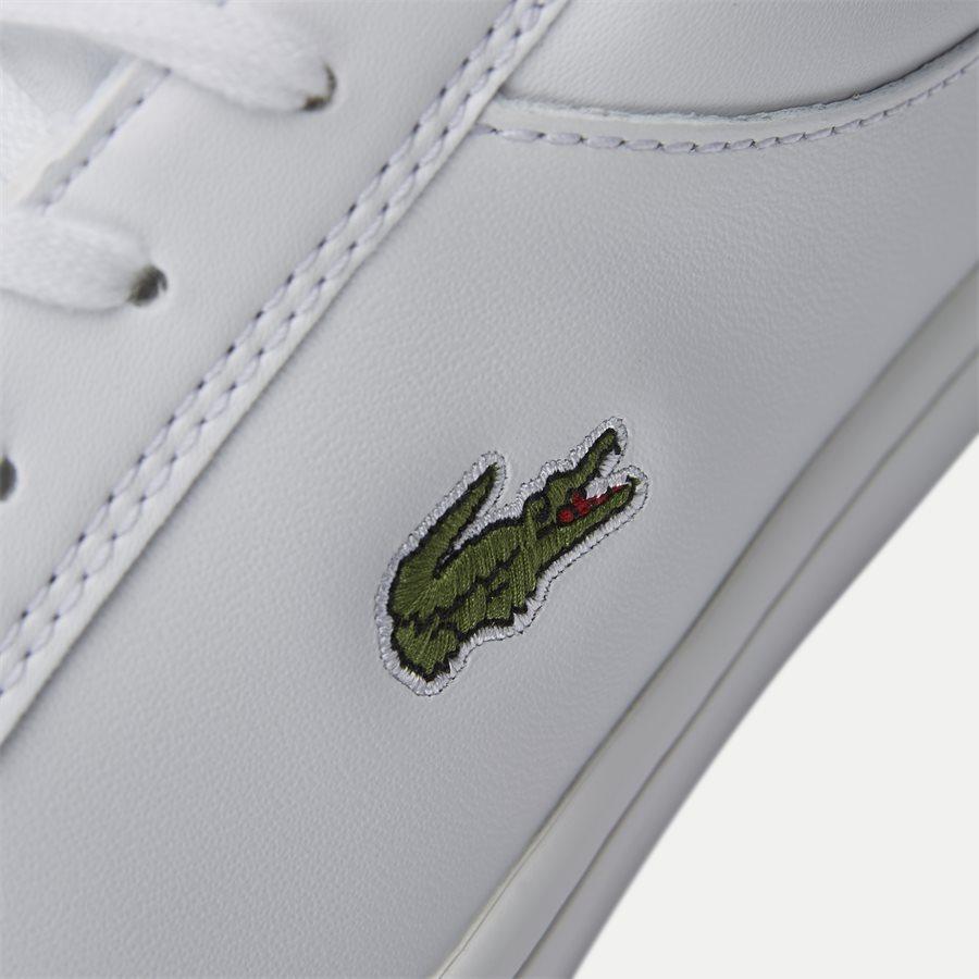 STRAIGHT BL 1 - Straightset Sneaker - Sko - HVID - 10