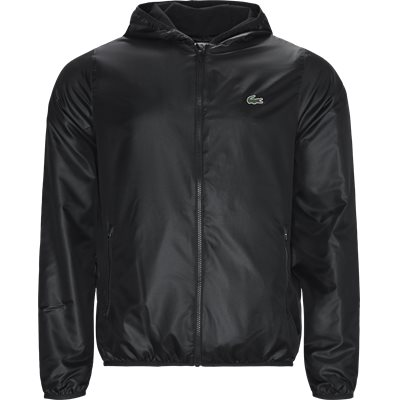 Sport Zip Jacket Regular | Sport Zip Jacket | Sort