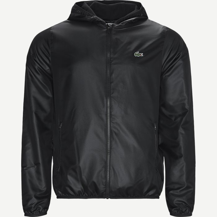 Sport Zip Jacket - Jakker - Regular - Sort