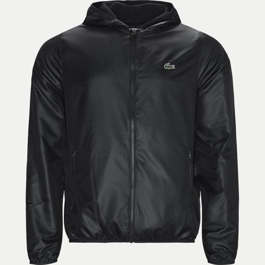 BH3589 - Sport Zip Jacket - Jakker - Regular - SORT - 1