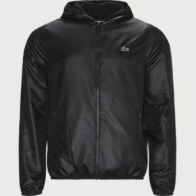 Sport Zip Jacket Regular | Sport Zip Jacket | Sort