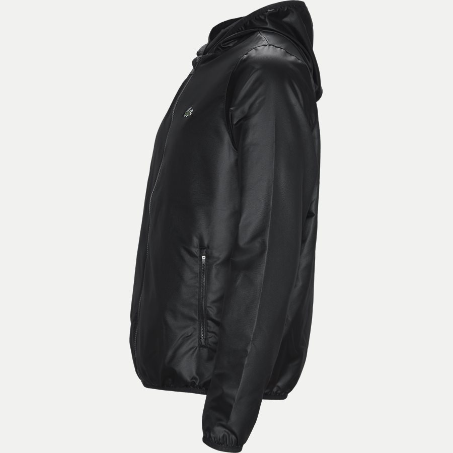 BH3589 - Sport Zip Jacket - Jakker - Regular - SORT - 3