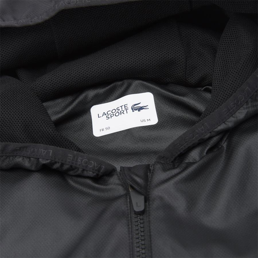 BH3589 - Sport Zip Jacket - Jakker - Regular - SORT - 5