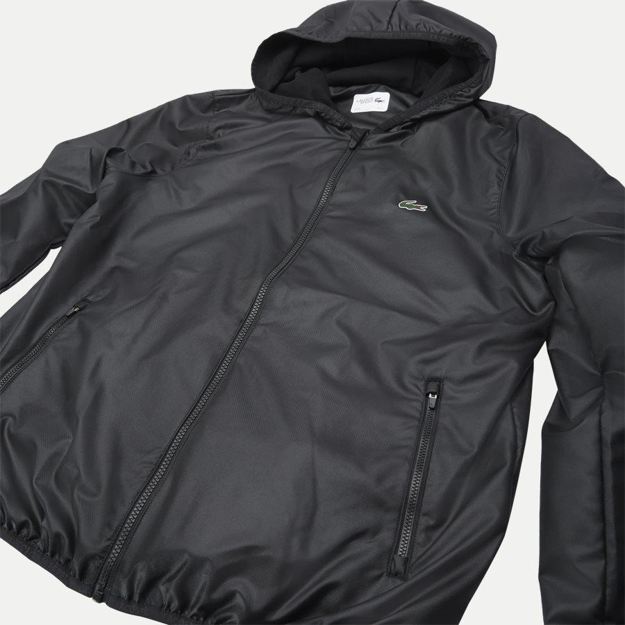 BH3589 - Sport Zip Jacket - Jakker - Regular - SORT - 7