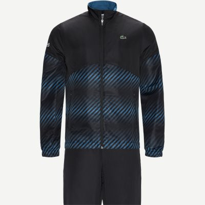 Sport Shaded Stripes Tennis Sweatsuit Regular | Sport Shaded Stripes Tennis Sweatsuit | Sort