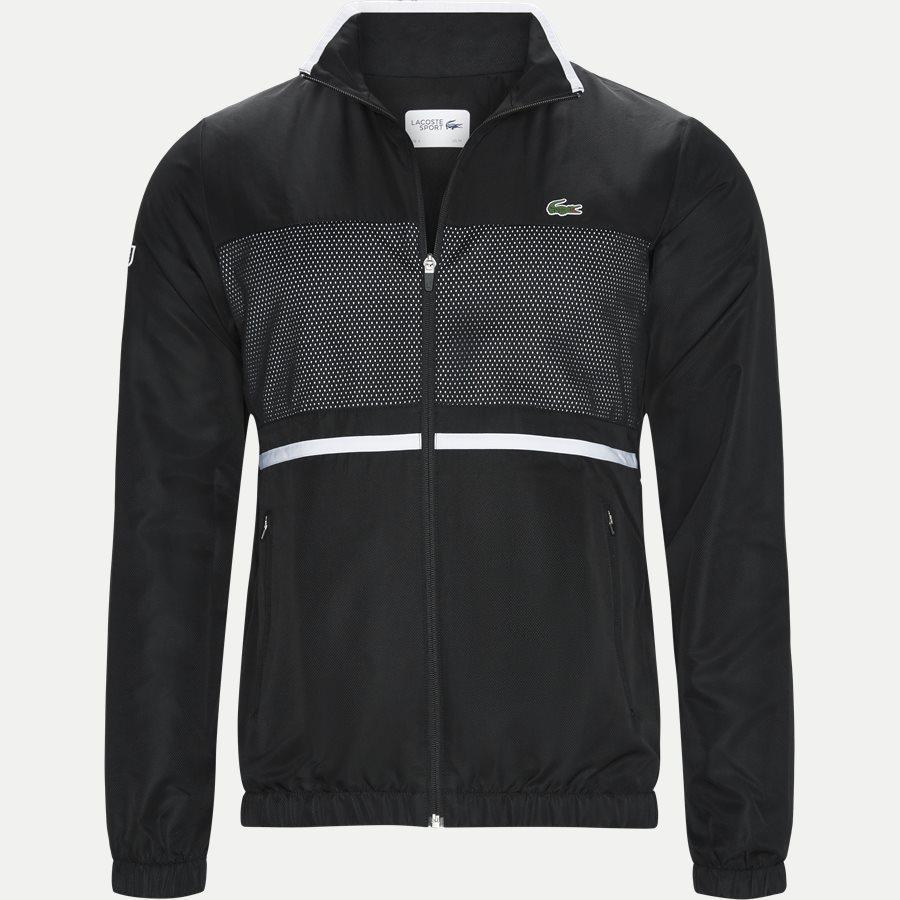 WH3573 - Contrast Bands And Mesh Panel Tennis Sweatsuit - Sweatshirts - Regular - SORT - 2