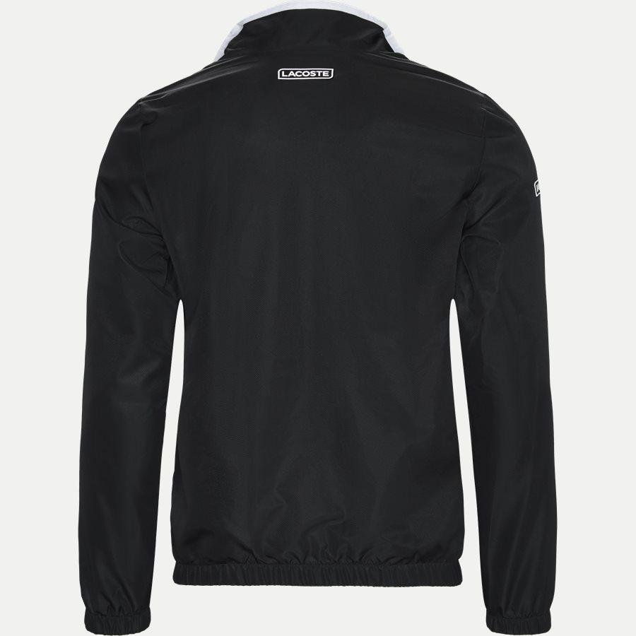WH3573 - Contrast Bands And Mesh Panel Tennis Sweatsuit - Sweatshirts - Regular - SORT - 3
